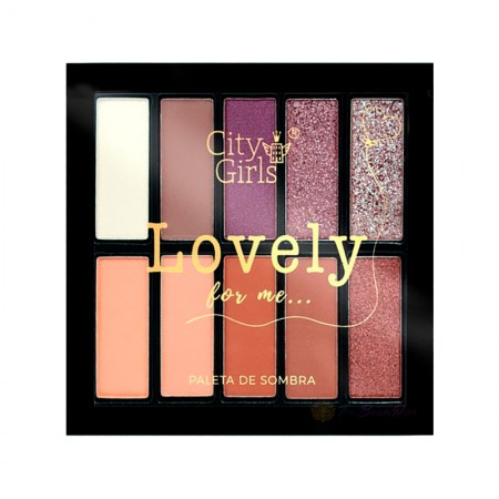 Paleta de Sombras Lovely - City Girls